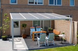 Alu -Terrassendach TD 101 Standard einfach, genial und preiswert